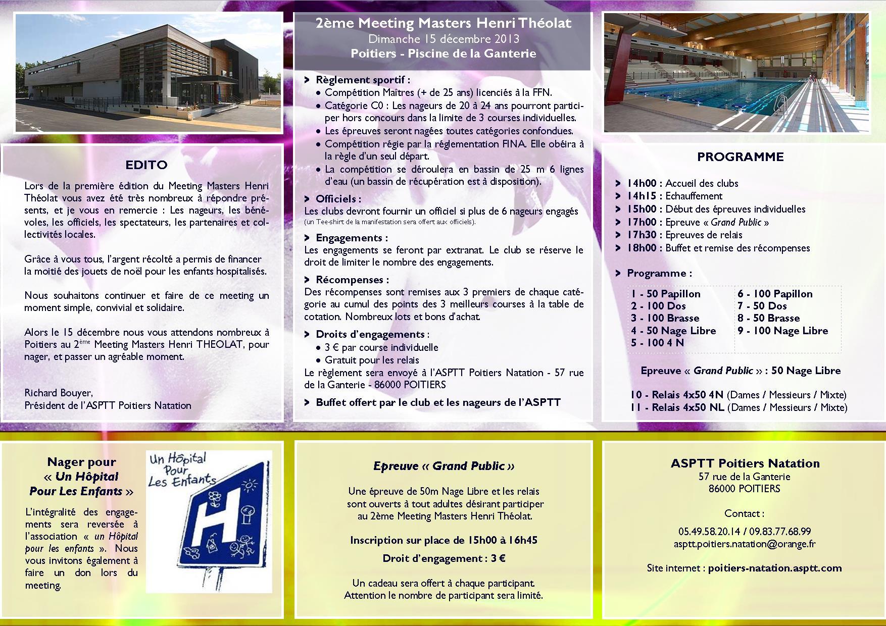 MMHT2 - Programme et règlement